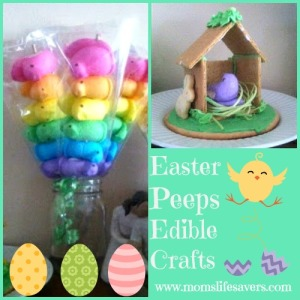 Happy Easter – Peeps Edible Crafts