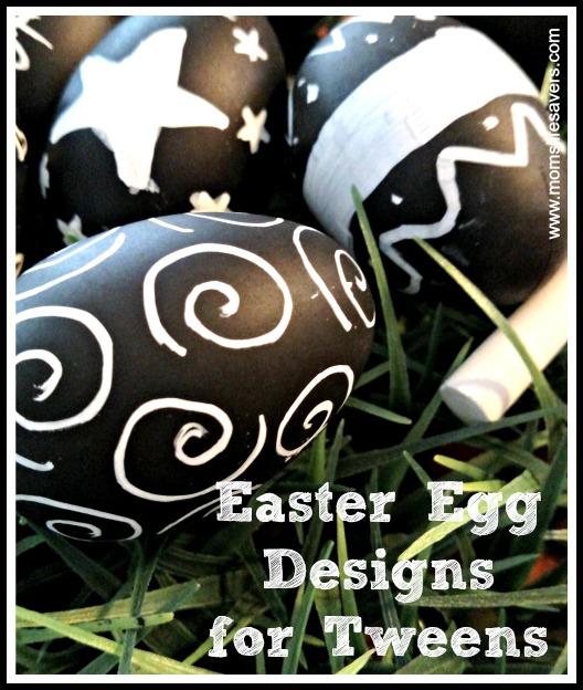 Easter Egg Designs for Tweens Mom's Lifesavers
