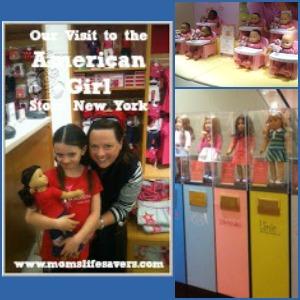 American Girl Store Visit, Manhattan, New York Part I