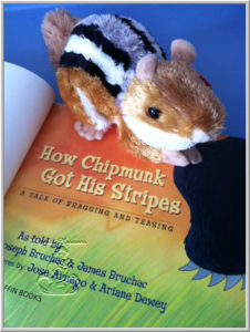 Books We Love – How Chipmunk Got His Stripes
