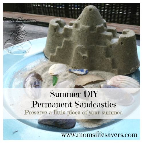 Summer DIY - Permanent Sandcastles