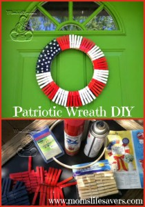 DIY – Patriotic Wreath