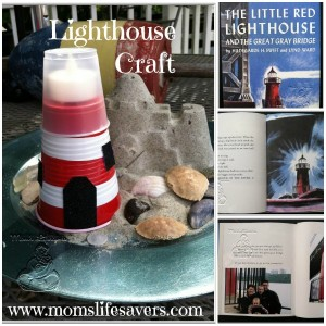 Summer – Lighthouses! Lighthouse Craft and Book