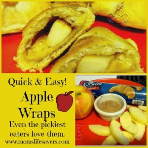 Apple Wraps! Quick and Easy Recipe
