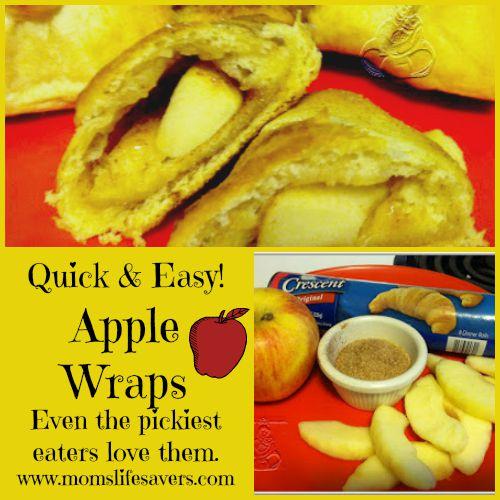 Apple Wraps - Quick and Easy Recipe