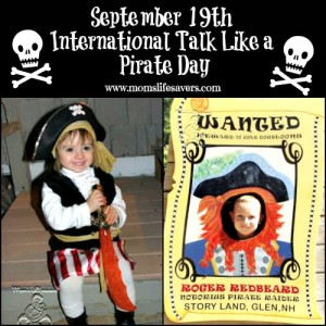 September 19 International Talk Like A Pirate Day!