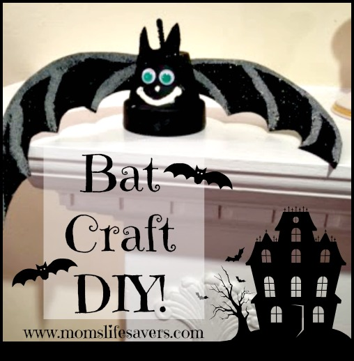 Bat Craft DIY with Mom's Lifesavers