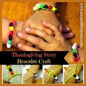Thanksgiving Story Bracelet You Can Make It Too!