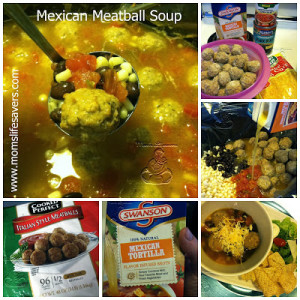 Mexican Meatball Slowcooker Soup