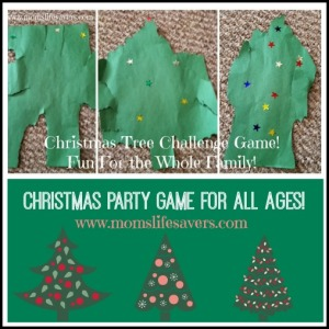 Christmas Tree Challenge – Family Game