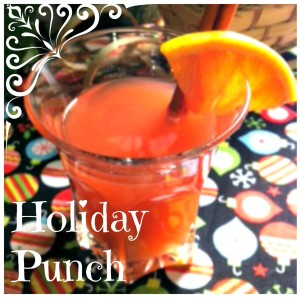 Holiday Punch – Slow Cooker Baby!
