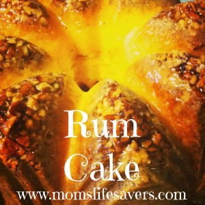 Rum Cake – A Seasonal Tradition