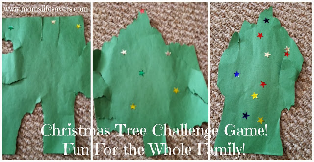 Christmas Tree Challenge - Mom's Lifesavers