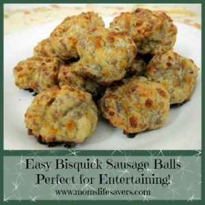 Easy Bisquick Sausage Balls
