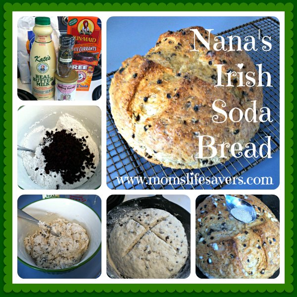 Nana's Irish Soda Bread Mom's Lifesavers