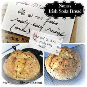 Nana's Irish Soda Bread – Recipe
