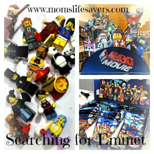 Searching for LEGO Movie MiniFigures