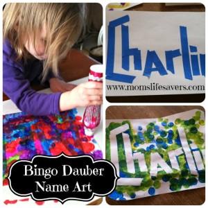 Bingo Dauber Art – DIY