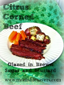Easy and Delicious Citrus Corned Beef