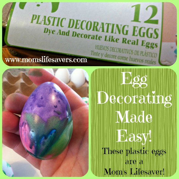 Easy Egg Decorating Mom's Lifesavers