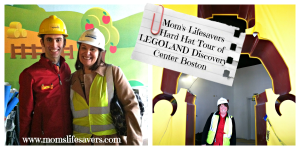 LEGOLAND Discover Center Boston Hard Hat Tour
