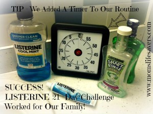 Listerine 21 Day Challenge – The Results