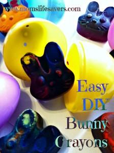 Easy DIY Bunny Crayons