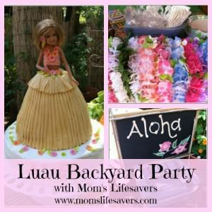 Party Time – Backyard Luau Party!