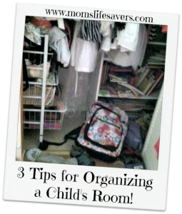 3 Tips for Organizing a Child's Room