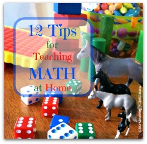 12 Easy Tips for Teaching Math at Home