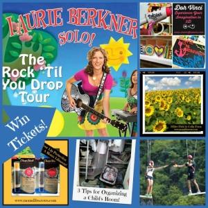 Week In Review Laurie Berkner The Rock Til You Drop Tour