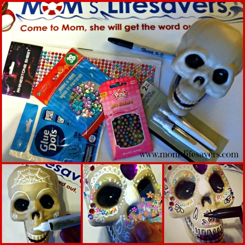 Day of the Dead DIY with Mom's Lifesavers