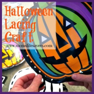 Pumpkin Lacing Cards – You Can Make It Too!
