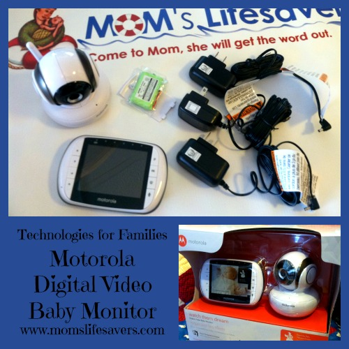 motorola digital baby monitor mom 39 s lifesavers. Black Bedroom Furniture Sets. Home Design Ideas