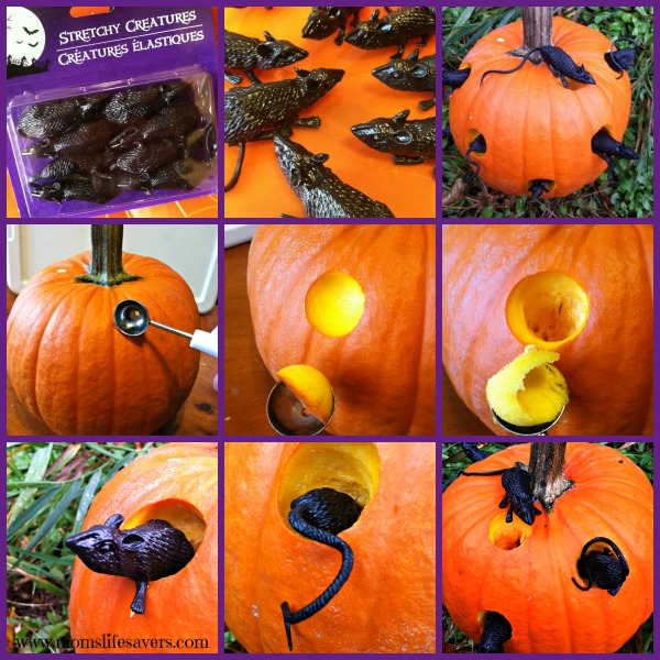 Easy Pumpkin Carving with Mom's Lifesavers
