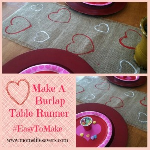 Make a Burlap Table Runner