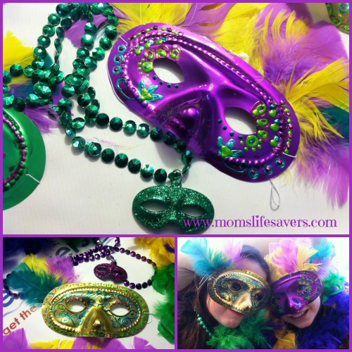 Mardi gras masks craft mom 39 s lifesavers for Mardi gras masks crafts