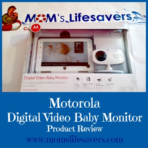 motorola digital video baby monitor mom 39 s lifesavers. Black Bedroom Furniture Sets. Home Design Ideas