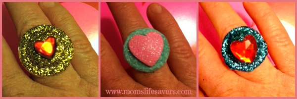 UpCycled Rings Tutorial Moms Lifesavers