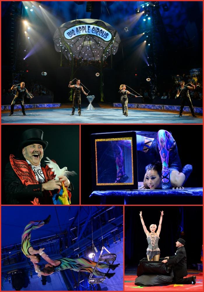 Big Apple Circus METAMORPHOSIS Boston City Hall Plaza PHOTO CREDIT: Bertrand Guay/Big Apple Circus