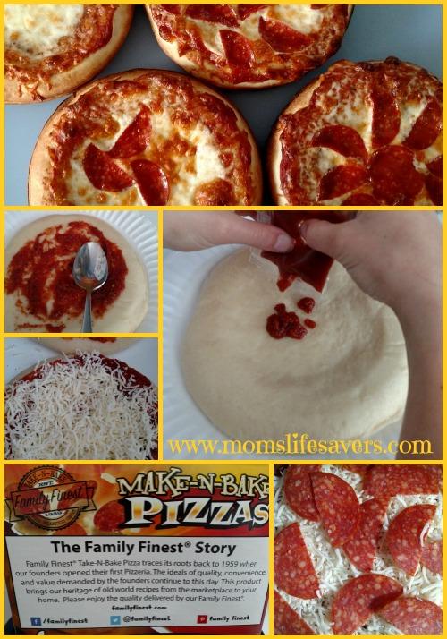 Family Finest Make-N-Bake Pizza