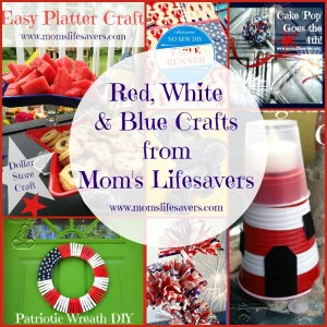 Red White and Blue Crafts for You
