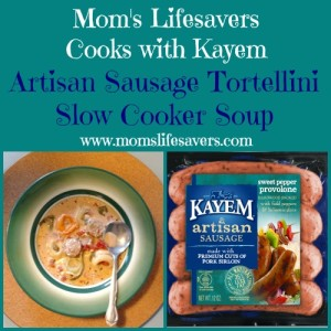 Mom's Lifesavers Cooks with Kayem Artisan Sausage