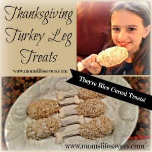 Turkey Leg Treats for Thanksgiving