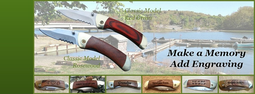 Gifts They Really Want www.ParkerRiverKnife.com