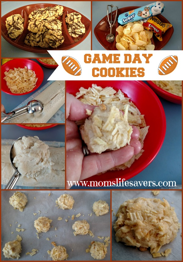 Football Game Day Cookies Mom's Lifesavers
