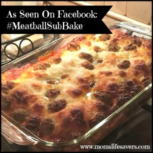 #MeatballSubBake As Seen on Facebook