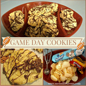 Game Day Cookies – Easy Recipe