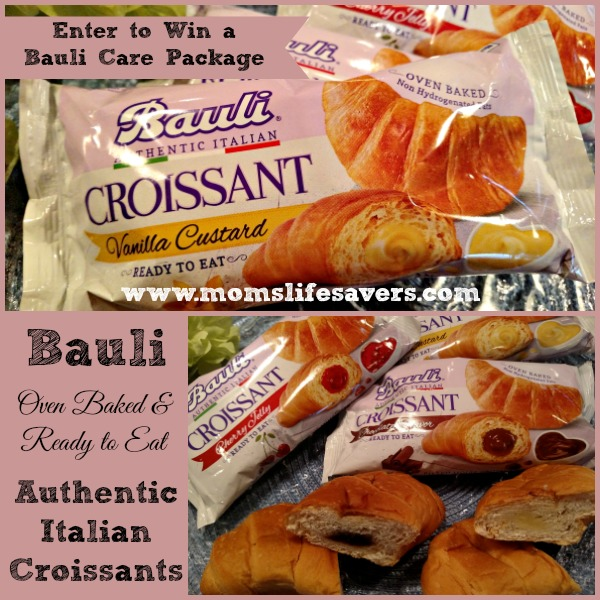 Bauli Filled Croissants Review by Mom's Lifesavers