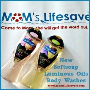 Softsoap Luminous Oils Body Washes
